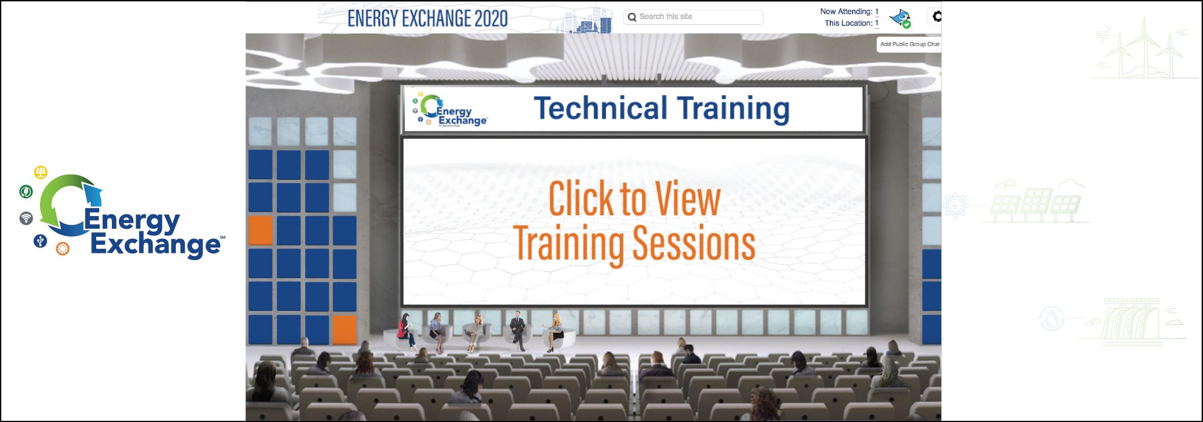 Energy Exchange 2021 Technical Training